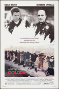 """Movie Posters:Action, Colors (Orion, 1988). Rolled, Fine/Very Fine. Autographed One Sheet (27"""" X 41"""") SS. Action.. ..."""