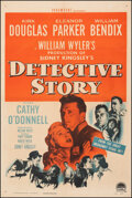 """Movie Posters:Crime, Detective Story (Paramount, 1951). Fine+ on Linen. One Sheet (27"""" X 41""""). Crime.. ..."""