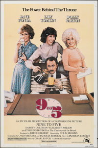 "Nine to Five & Other Lot (20th Century Fox, 1980). Folded, Overall: Very Fine. One Sheets (2) (27"" X 41"")..."