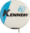 """Political:Pinback Buttons (1896-present), John F. Kennedy: Rare and Desirable """"Kennedy '60"""" Button...."""
