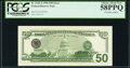 Third Printing on Back Error Fr. 2126-J $50 1996 Federal Reserve Note. PCGS Choice About New 58PPQ