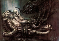 Alien by H. R. Giger (20th Century Fox, 1978). Rolled, Very Fine-. Signed and Hand-Numbered Limited Edition Portfolio Pr...