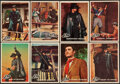 Non-Sport Cards:Sets, 1958 Topps Zorro Complete Set (88). ...