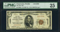 National Bank Notes:Florida, Clearwater, FL - $5 1929 Ty. 1 The First National Bank Ch. # 12905 PMG Very Fine 25.. ...