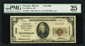 National Bank Notes:Illinois, Decatur, IL - $20 1929 Ty. 1 The Millikin National Bank Ch. # 5089 PMG Very Fine 25.. ...