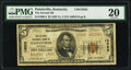 National Bank Notes:Kentucky, Paintsville, KY - $5 1929 Ty. 2 The Second National Bank Ch. # 13023 PMG Very Fine 20.. ...