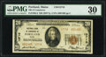 National Bank Notes:Maine, Portland, ME - $20 1929 Ty. 2 National Bank of Commerce Ch. # 13710 PMG Very Fine 30.. ...