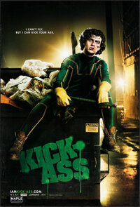 """Kick-Ass (Lions Gate, 2010). Rolled, Very Fine. One Sheets (4) (27"""" X 40"""") DS Advance, 4 Character Styles. Act..."""