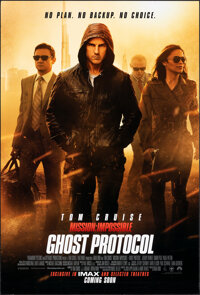 "Mission: Impossible - Ghost Protocol & Other Lot (Paramount, 2011). Rolled, Very Fine+. One Sheets (2) (27"" X 4..."