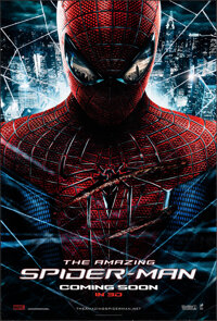 """The Amazing Spider-Man (Columbia, 2012). Rolled, Very Fine. One Sheet (27"""" X 40"""") DS Advance, 3-D Style. Actio..."""