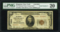National Bank Notes:New York, Serial Number 2 Kingston, NY - $20 1929 Ty. 2 The National Ulster County Bank Ch. # 13822 PMG Very Fine 20.. ...