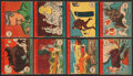 """Non-Sport Cards:Sets, 1941 R12 W.S. Corporation """"America At War"""" (#'d 501-548) Complete Set (48). ..."""