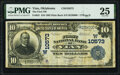 National Bank Notes:Oklahoma, Vian, OK - $10 1902 Plain Back Fr. 631 The Firs...