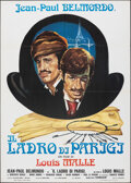 """Movie Posters:Foreign, The Thief of Paris (United Artists, R-1973). Folded, Very Fine. Italian 2 - Fogli (39.25"""" X 55""""). Foreign.. ..."""