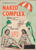 """Movie Posters:Adult, Naked Complex (U.S. Films Inc., 1963). Folded, Very Fine-. Poster (23"""" X 32""""). Adult.. ..."""