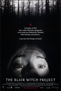 """The Blair Witch Project & Other Lot (Artisan, 1999). Rolled, Overall: Very Fine+. One Sheet (26.75"""" X 39.75&quo..."""