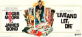 """Movie Posters:James Bond, Live and Let Die (United Artists, 1973). Folded, Very Fine/Near Mint. International 24 Sheet (104"""" X 232"""") Robert McGinnis A..."""