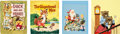 Animation Art:Production Drawing, Richard Scarry - Little Golden Book Cover Illustrations Original Art Group of 4 (Simon & Schuster/Western Publishing, 1949-61)... (Total: 4 Items)
