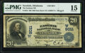National Bank Notes:Oklahoma, Newkirk, OK - $20 1902 Date Back Fr. 644 The Ea...