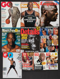 Basketball Collectibles:Publications, 1989-2011 Mike Jordan Non-Sports Magazines Lot of 10....