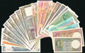 Ceylon & India Group Lot of 22 Examples Fine-Crisp Uncirculated. ... (Total: 22 notes)