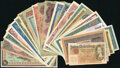 Germany Group Lot of 110 Examples Good-Crisp Uncirculated. ... (Total: 110 notes)