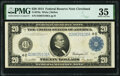 Fr. 979a $20 1914 Federal Reserve Note PMG Choice Very Fine 35