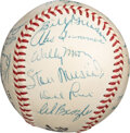 Baseball Collectibles:Balls, 1954 St. Louis Cardinals Team Signed Baseball from The Stan Musial Collection....