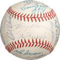 Baseball Collectibles:Balls, 1962 St. Louis Cardinals Team Signed Baseball from The Stan Musial Collection....