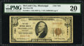 National Bank Notes:Mississippi, McComb City, MS - $10 1929 Ty. 1 The First National Bank Ch. # 7461 PMG Very Fine 20.. ...