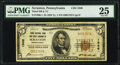 National Bank Notes:Pennsylvania, Scranton, PA - $5 1929 Ty. 1 Third National Bank & Trust Company Ch. # 1946 PMG Very Fine 25.. ...