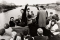 Photographs, Will McBride (American, 1931-2015). Hello! from Riverboat Shuffle (Jazz auf dem Fluss), 1959. Gelatin silver, printed 20...