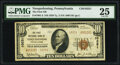 National Bank Notes:Pennsylvania, Nesquehoning, PA - $10 1929 Ty. 2 The First National Bank Ch. # 10251 PMG Very Fine 25.. ...