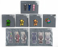 Collectible, KAWS X NGV. Group of KAWS Ephemera (13 works), 2019. Magnets and enamel pins. 3-1/2 x 1-3/4 inches (8.9 x 4.4 cm) (magne... (Total: 13 Items)