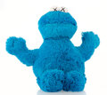 Collectible, KAWS X Sesame Street. Cookie Monster, 2018. Plush toy. 19 x 16 x 5 inches (48.3 x 40.6 x 12.7 cm). Open Edition. Produce...