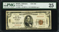 National Bank Notes:Alabama, Mobile, AL - $5 1929 Ty. 1 The First National Bank Ch. # 1595 PMG Very Fine 25.. ...