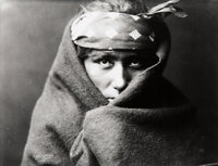 Edward Sheriff Curtis (American, 1868-1952) Group of 10 Photographs of Native Americans, 1900-1929 G