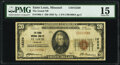 National Bank Notes:Missouri, Saint Louis, MO - $20 1929 Ty. 1 The Grand National Bank Ch. # 12220 PMG Choice Fine 15.. ...