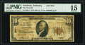 National Bank Notes:Alabama, Anniston, AL - $10 1929 Ty. 2 The First National Bank Ch. # 3041 PMG Choice Fine 15.. ...
