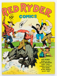 Red Ryder Comics #7 (Dell, 1942) Condition: FN