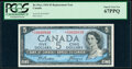 Canada Bank of Canada $5 1954 Pick 78 BC-39aA Replacement PCGS Superb Gem New 67PPQ