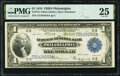 Fr. 716 $1 1918 Federal Reserve Bank Note PMG Very Fine 25