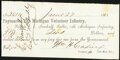 Obsoletes By State:Michigan, 11th Michigan Volunteer Infantry, MI - C.E. Newhall, Sutler Soldier Deduction Certificate $2 June 27, 1865 Choice About Un...