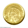 Three Dollar Gold Pieces: , 1883 $3 MS65 NGC. The 1883 has one of the lowest mintages ...