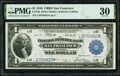 Fr. 746 $1 1918 Federal Reserve Bank Note PMG Very Fine 30