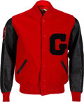 Football Collectibles:Others, 1967-68 Jake Scott University of Georgia Bulldogs Signed Letterman's Jacket from The Jake Scott Collection. ...