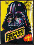 """Non-Sport Cards:Unopened Packs/Display Boxes, 1980 Topps Star Wars """"The Empire Strikes Back"""" Series 3 Wax Box with 36 Unopened Packs! ..."""