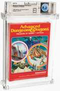 Video Games:Other, Advanced Dungeons & Dragons: Treasure of Tarmin - Wata 9.2 A++ Sealed [1983 Red box], INTV Mattel Electronics 1983 USA....