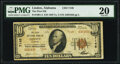 National Bank Notes:Alabama, Linden, AL - $10 1929 Ty. 2 The First National Bank Ch. # 7148 PMG Very Fine 20.. ...