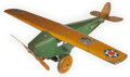 Antiques:Toys, Lot of Two Steelcraft Army Scout Planes, Models NX 107 & NX110.... (Total: 2 Items)